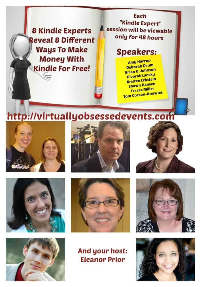 Virtual Event Featuring 9 Kindle Experts