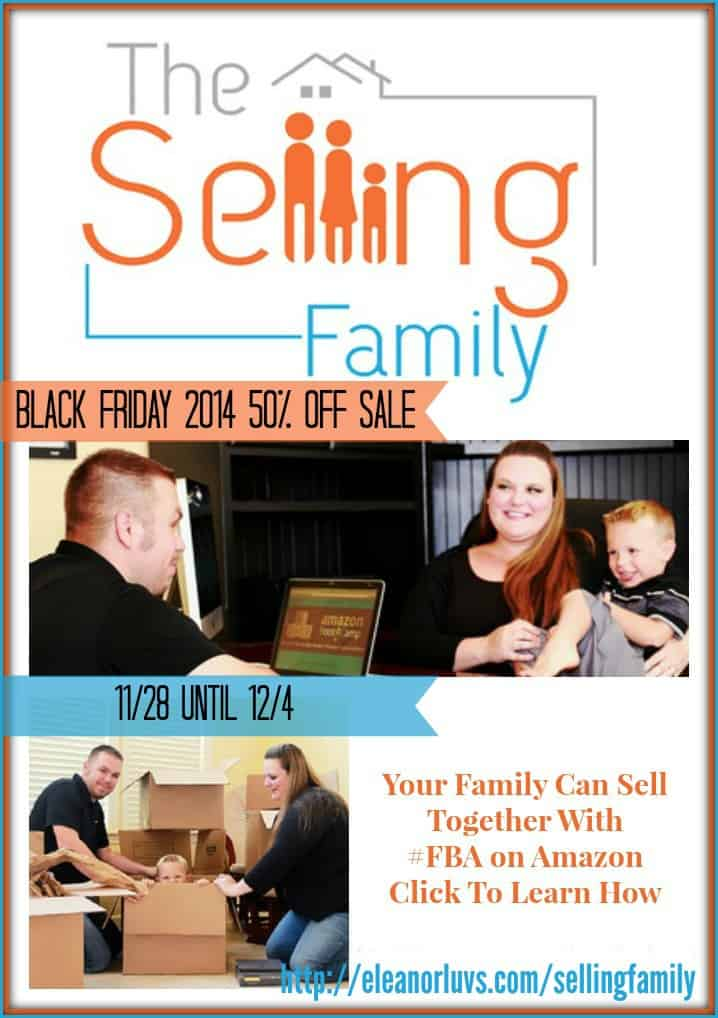 Get Started Selling On Amazon With The Selling Family Black Friday 50% OFF Sale