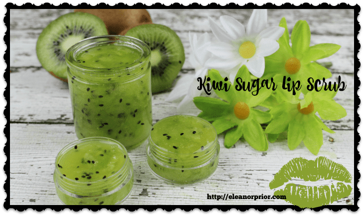 Kiwi Sugar Lip Scrub