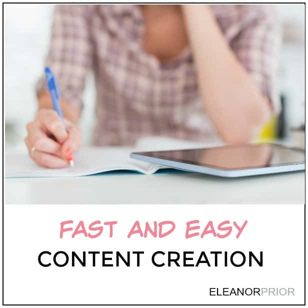 Fast and Easy Content Creation