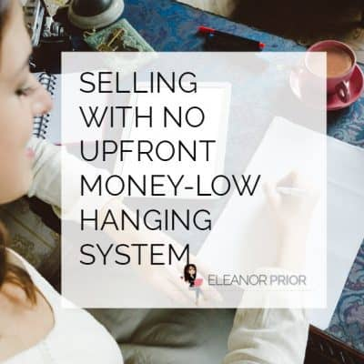 Selling with no upfront money-low hanging system