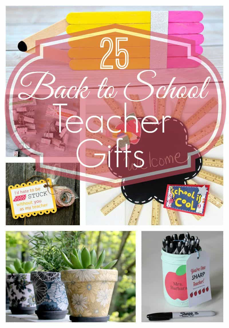 25 Back to School Teacher Gifts