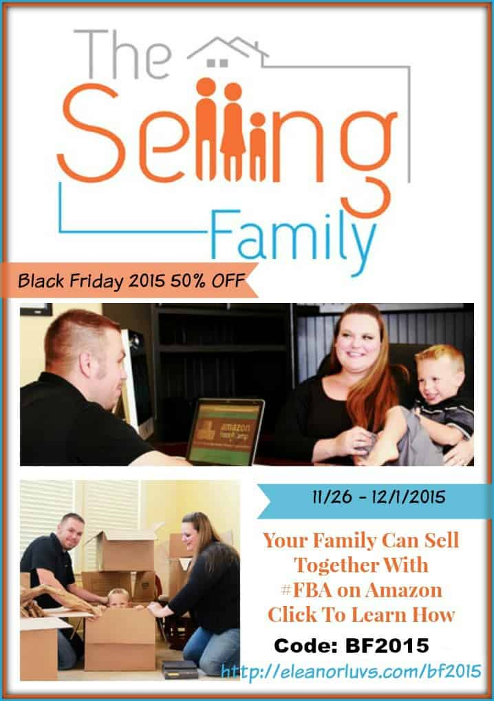 Get Started Selling On Amazon With The Selling Family Black Friday 50 OFF Sale 2015