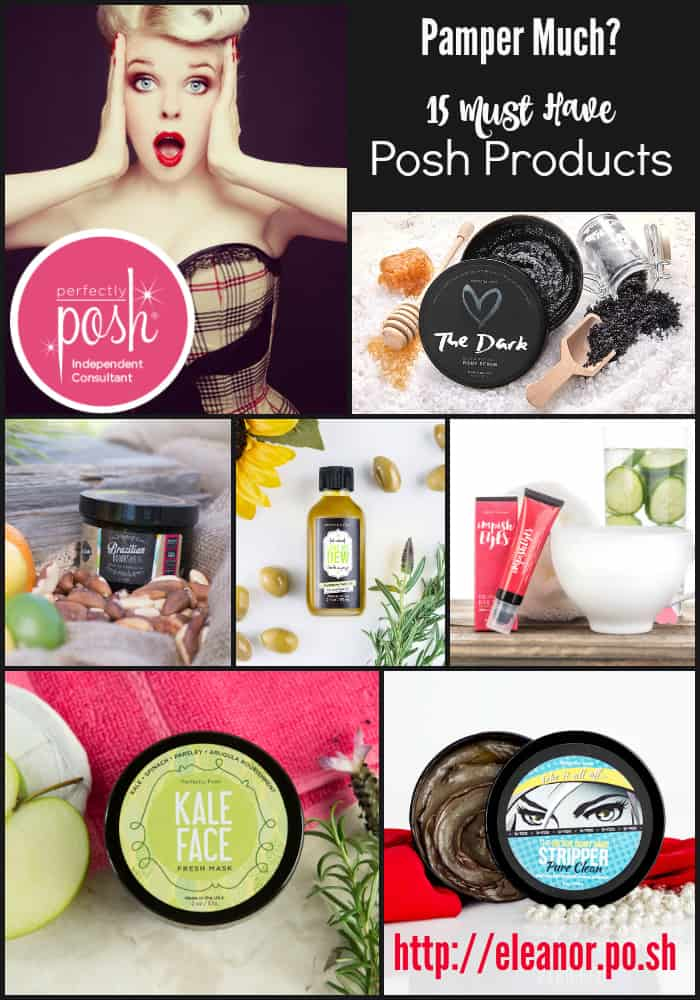 Pamper Much?  15 Must Have Perfectly Posh Products…
