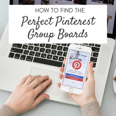 How to Find the Perfect Pinterest Group Boards