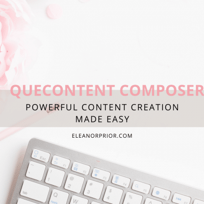 QueContent Composer Powerful Content Creation Made Easy